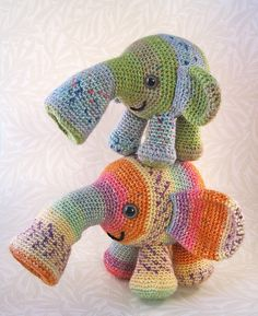tooterphants #crochet
