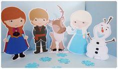 Display de Mesa Frozen - 5 personagens