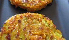 Röstis de poireaux et de patate douce