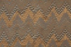 5.8 Yards Flamestitch Upholstery Fabric in Blue/Topaz Price: $34.98