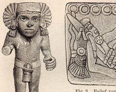 Antigüedades americanas 1893 antiguo grabado, precolombino arquitectura artefactos culturales Antropologia Folklore instrumentos Perú México Colombia