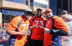 Broncos Super Bowl parade runs through downtown Denver