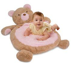 Baby Bear Floor Pillow Layette Set For Girls