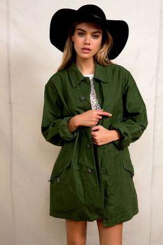 Urban Renewal Vintage Swedish Combat Jacket - Urban Outfitters