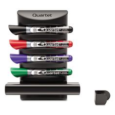Prestige 2 Connects Marker Caddy, 4 Chisel-Tip Markers, Assorted