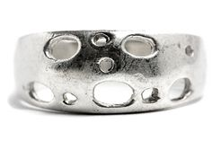 Cheese Holes Silver Ring by Tezsahcom https://www.etsy.com/listing/468567666/cheese-holes-silver-ring?ref=rss