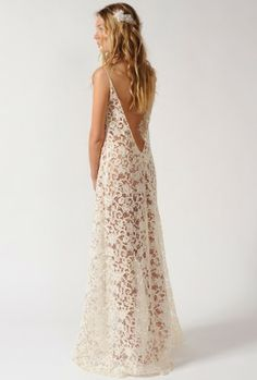 http://eshop.delphinemanivet.com/25-216-thickbox/long-dress-in-vintage-guipure.jpg#TheLANEWeddings #DelphineManivet