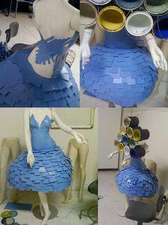 Paint Chip Dress