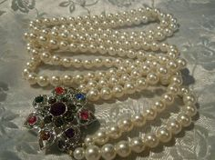 Vintage Signed Emmons Pin /necklace combination