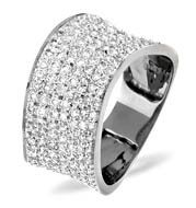 The Diamond Store.co.uk 18K WHITE GOLD DIAMOND RING 0.89CT Item RX21 - A beautiful Pave Ring for 1055.00 in 18K White Gold. 0.89ct of H/si quality Diamonds. Free UK delivery and a 5 year guarantee. http://www.comparestoreprices.co.uk/gold-jewellery/the-diamond-store-co-uk-18k-white-gold-diamond-ring-0-89ct.asp