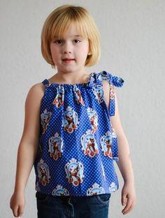 Freebook Sonnentop und Kleid fuer Maedchen