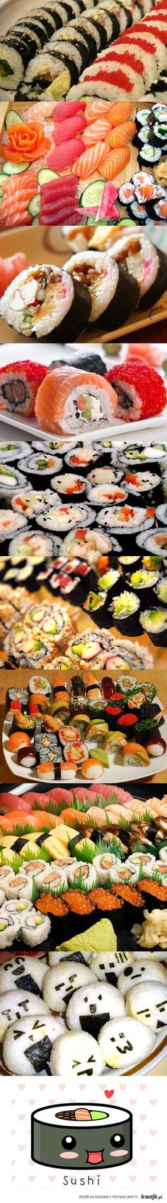 Sushi forever <3 I want it all!! :)