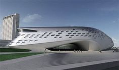 Guggenheim Hermitage Zaha Hadid Museum  #Hadid #Zaha Pinned by www.modlar.com