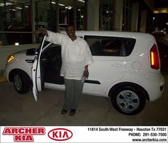 Congratulations to Thomas Paige on the new 2013 Kia Soul!
