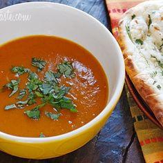 Roasted Red Kuri Coconut Curry Soup Recipe - Skinnytaste