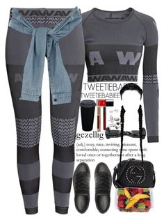"""""""Balenciagas idfw noobody"""" by tweetiebabiee ❤ liked on Polyvore featuring H&M, River Island, Gucci, Mudd, Mikimoto and Balenciaga"""
