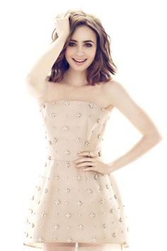 Lily Collins on 'YO DONA' Magazine