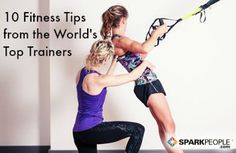 These must-read tips are like a free consultation from the top personal trainers around the globe!