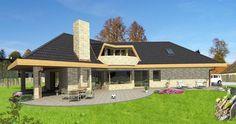 Typový projekt rodinného domu VILLA 122, Patrový dům od společnosti Villa projektový atelier s cenou  realizace 6 340 000 Kč