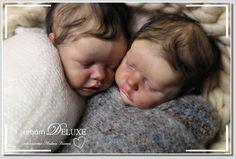 Twin A und Twin B by Bonnie Brown Reborned by ANDREA HEEREN reborn DELUXE Rebornbabys