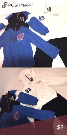 Nautica 4Pc Set Nautica 4PC Set - 2 Sweaters, 1 Shirt, 1 Pair of Pants Nautica Matching Sets