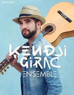 Kendji Girac, sa nouvelle tournée 2016