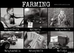 Farming what my friends think...