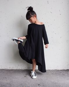 Whitefilly BLACK Filly Dress