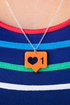 Instagram necklace