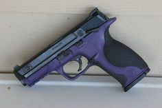 purple guns smith and wesson | Smith & Wesson M&P 9 painted Goddess Purple