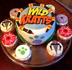Too Sweeties Bake Shoppe.. Wild Kratts cake