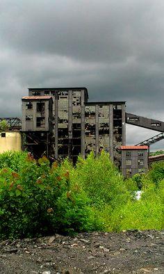 Huber Coal Breaker, Ashley PA