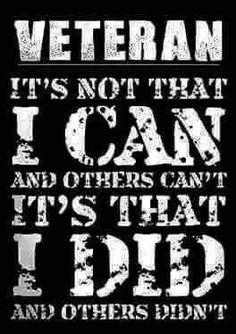 Discover Always Will Be A Veteran T-Shirt from ARMY-MAN, a custom product made just for you by Teespring. - Veteran It's Not That I Can And Others Can't. Military Quotes, Military Humor, Military Veterans, Military Service, Military Life, Vietnam Veterans, Vietnam War, Usmc Quotes, Navy Quotes