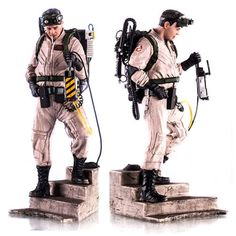 Ghostbusters Ray Stantz 1:10 Art Scale Statue - Iron Studios - Ghostbusters - Statues at Entertainment Earth