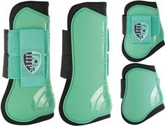 Horse boot set SU14 - 33204601 - Harry's Horse. OMG THEY ARE MINT GREEN I NEED THEM!!!