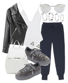 """Untitled #20914"" by florencia95 ❤ liked on Polyvore featuring Puma, Fendi, Acne Studios and Mansur Gavriel"