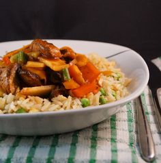 Szechuan Vegetable Curry with Special Brown Rice