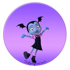 Vampirina stickers etiquetas para imprimir gratis Fall Birthday, 5th Birthday, Birthday Parties, Vampire Party, Disney Junior, Bottle Cap Images, Bottle Caps, Baby Images, Ideas Para Fiestas