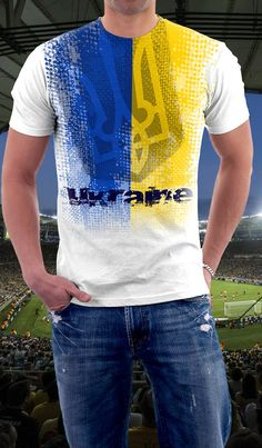 2014 Championship support Ukraine Football / Soccer by VicmoDesign, $16.00