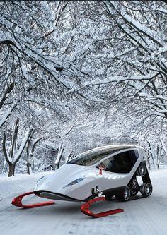 SNOW VEHICLE - Futurologo no. 12 by Michal Bonikowski, via ...
