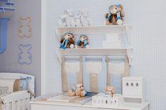 A atriz Bruna Hamú e a designer de interiores Andrea Bento escolheram a Grão de Gente para decorar o quarto do Julinho, o primeiro filho da atriz.