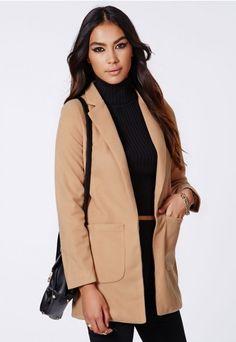 Vanessa Tailored Coat - Coats & Jackets - Missguided