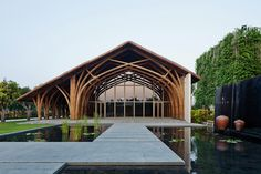 Naman Retreat Conference Hall: Vo Trong Nghia Architects