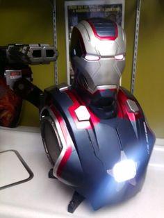 cool SIDESHOW Marvel Avengers Iron Patriot Lifesize 1:1 Scale Bust NEW!