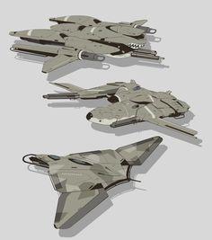 Aircraft sketches #7, Timo Kujansuu on ArtStation at https://www.artstation.com/artwork/oB5YL
