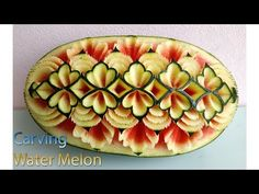 Watermelon new design Amazing Food Art, Fruit And Vegetable Carving, Cute Food, Natural Medicine, Fruits And Vegetables, News Design, Watermelon, Channel, Make It Yourself