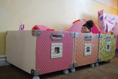 organization for kids room or play room