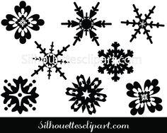 Snowflake Vector Graphics Free & Premium