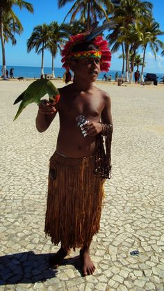 * Child ethnicity Pataxó _ Bahia _ Brazil *