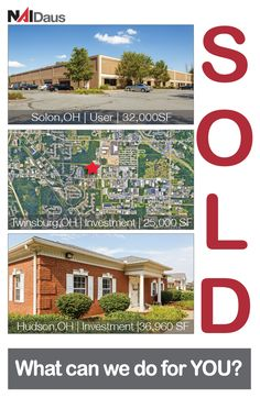 Congrats to The Gleason/Kahn Team on these sales. Contact @GerilynGleason to see how she can assist with your #CRE needs. 216-455-0916 @NAIDaus #SOLD